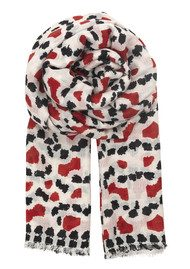 Becksondergaard Marvielle Silk & Wool Scarf - High Risk Red