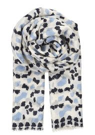 Becksondergaard Marveille Silk & Wool Scarf - Placid Blue