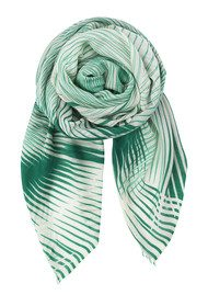 Becksondergaard Lyric Silk & Wool Scarf - Shady Green