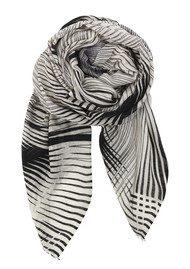 Becksondergaard Lyric Silk & Wool Scarf - Black