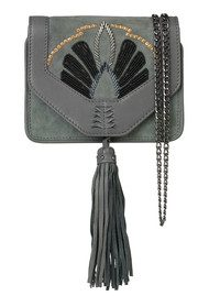 Becksondergaard Y-Adalie Leather Bag - Sedona Sage