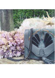 Becksondergaard Y-Adalie Leather Bag - Sedona Sage