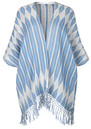 Becksondergaard Y-Sharla Cotton Cape - Placid Blue
