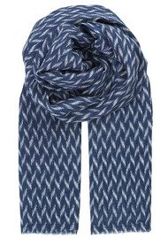 Becksondergaard Y-Izza Cotton Scarf -Patriot Blue