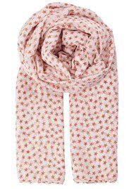 Becksondergaard Fine Summer Star Scarf - Light Berry