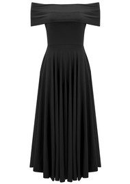 NADIA TARR Off Shoulder Dress - Black