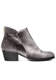 H By Hudson Apisi Velvet Ankle Boot - Grey