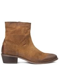 H By Hudson Laya Suede Ankle Boot - Tan