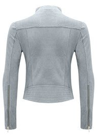 FAB BY DANIE Paris Suede Jacket - Grey