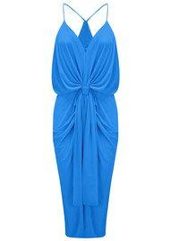 T Bags Los Angeles Domino Spaghetti Strap Dress - Royal