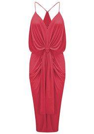 T Bags Los Angeles Domino Spaghetti Strap Dress - Red