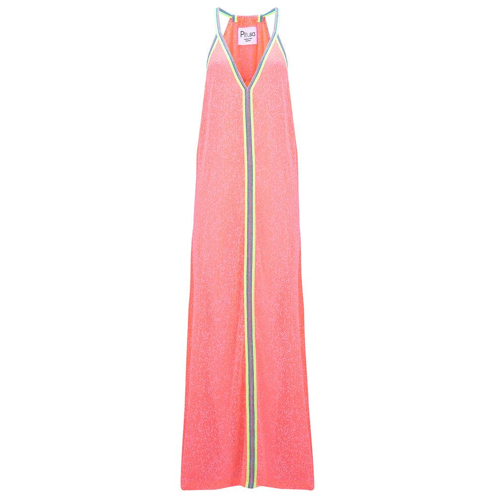 Inca Sun Dress - Watermelon