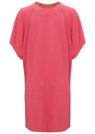 PITUSA Mini Abaya Dress - Hot Pink