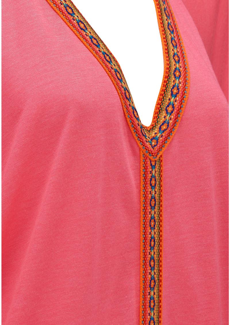 PITUSA Mini Abaya Dress - Hot Pink main image