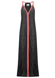 PITUSA Inca Sun Dress - Black & Fuchsia