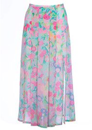 RIXO London Georgia Skirt - Neon Pastel Spot