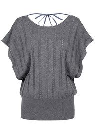 CUSTOMMADE Doana Sweater - Grey Melange