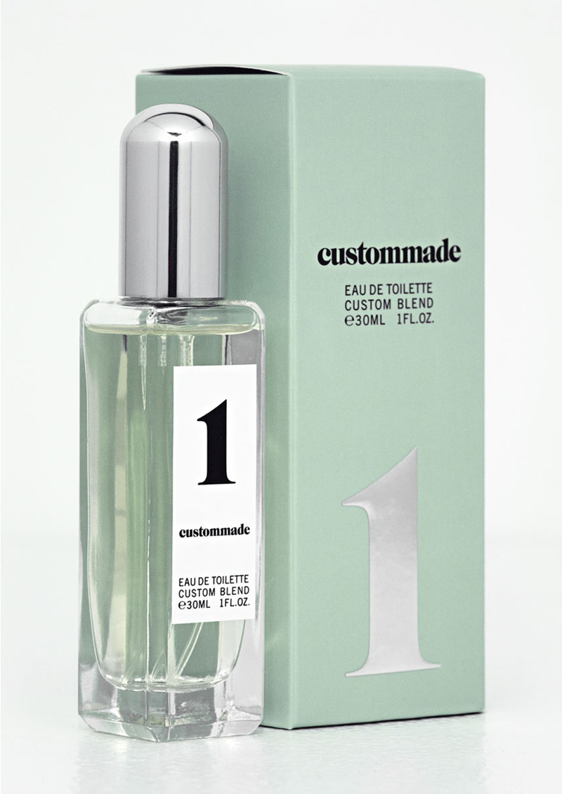 CUSTOMMADE Eau de Toilette Custom Blend Perfume - Fog Green main image