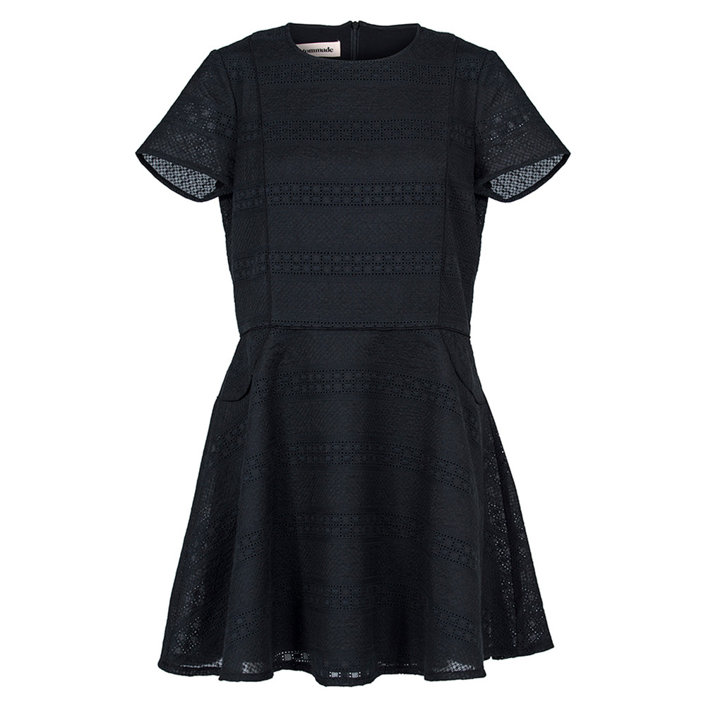Bebiane Dress - Anthracite Black