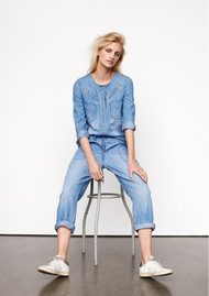 CUSTOMMADE Begitta Jumpsuit - Insignia Blue