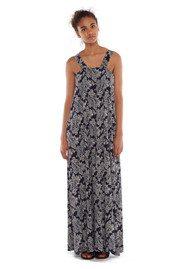 Essentiel Marin Long Dress - Big Blue