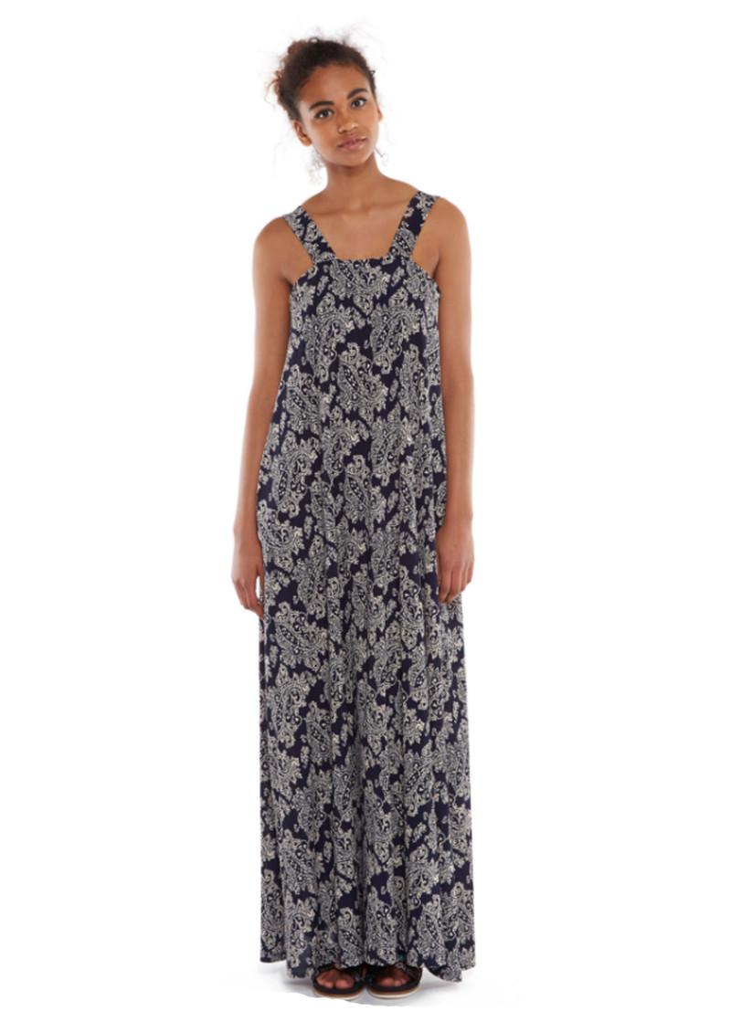 Essentiel Marin Long Dress - Big Blue main image