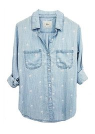 Rails Carter Shirt - Palms