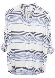 Rails Quincy Stripe Shirt - Engineered Stripe