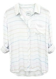 Rails Rocsi Shirt - Rainbow Stripe