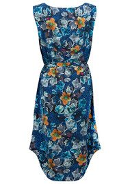 Pyrus Calla Silk Dress - Cordelia Print