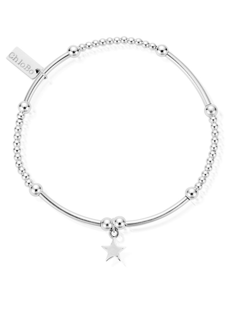 ChloBo Cute Mini Bracelet with Star - Silver main image