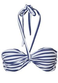 Twist and Tango Bridget Bandeau Bikini Top - Stripe