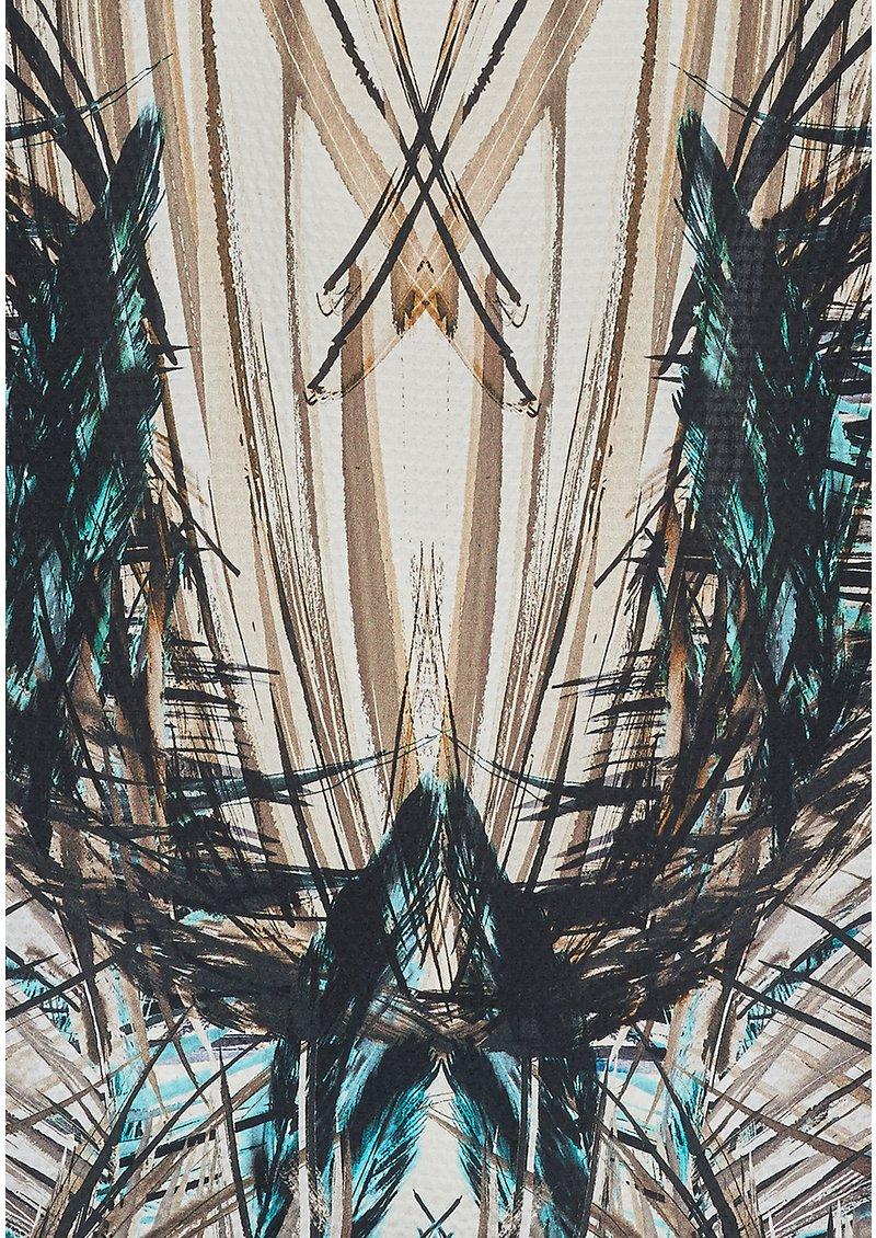 NOOKI Seabreeze Silk Cape - Blue main image