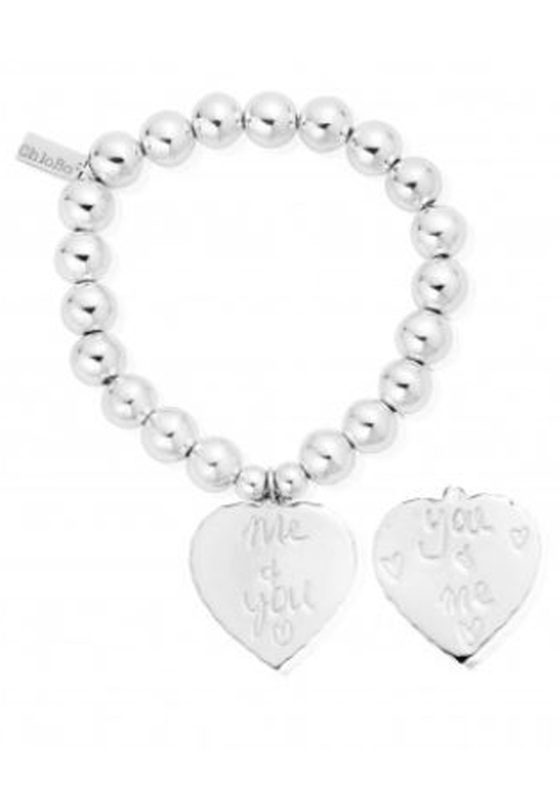 ChloBo Medium Ball Bracelet You & Me Bracelet - Silver main image