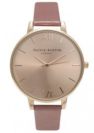 Olivia Burton Big Dial Watch - Rose & Rose Gold
