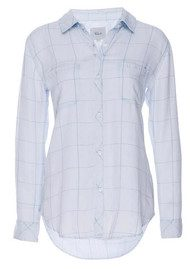 Rails Carter Shirt - Whitewash Grid