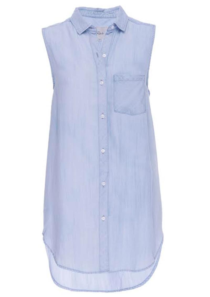 Rails Jaime Sleeveless Shirt - Light Vintage Wash main image
