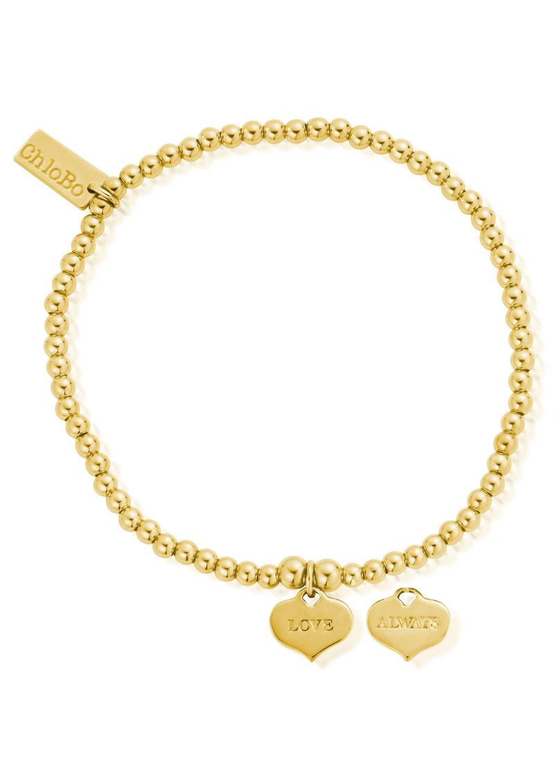 ChloBo Cute Charm Love Always Bracelet - Gold main image