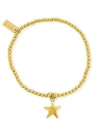 ChloBo Cute Charm Starfish Bracelet - Gold