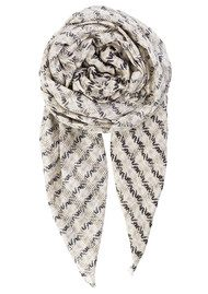 Becksondergaard Y-Nanin Cotton Scarf - Light Grey