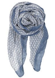 Becksondergaard Y-Laverna Cotton Scarf - Shy Indigo
