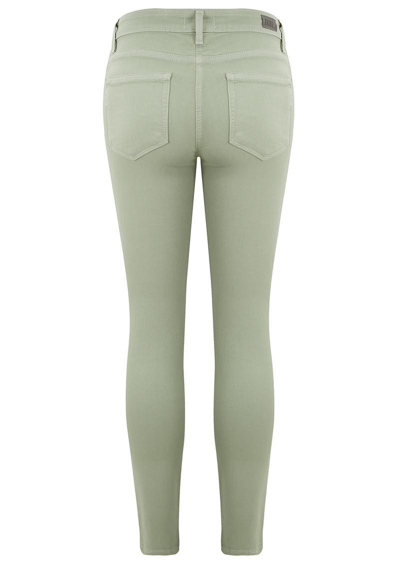 Paige Denim Verdugo Ankle Jeans - LemonGrass main image