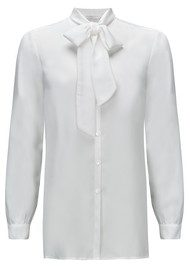 NEW LILY Zoe Shirt Blouse - White