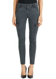 J Brand Houlihan Mid Rise Cargo Jeans - Distressed Chrome