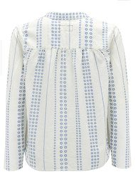 Current/Elliott The Annabelle Blouse - Daisy Stripe
