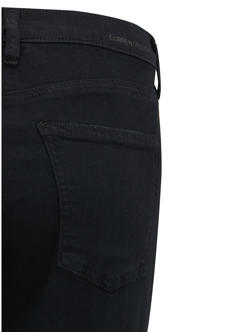 Current/Elliott The Fling Boyfriend Jeans - Washed Black main image