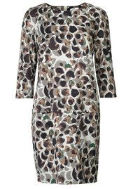 Day Birger et Mikkelsen  Mohani Printed Dress - Vintage Khaki