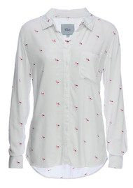 Rails Rocsi Shirt - Pink Flamingo