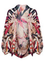 NOOKI EXCLUSIVE Birds Of Paradise Silk Cape - Bird Print
