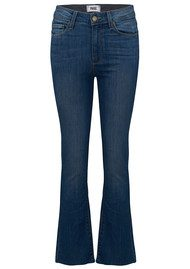 Paige Denim Colette Crop Flare Jeans - Cosmo
